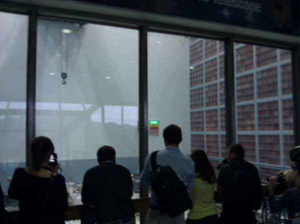Viewing Window to the Highbay Clean Room at NASA Goddard