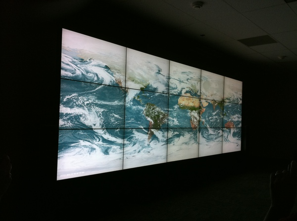 Hyperwall in Science Visualization Studio at NASA Goddard