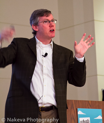 Brian Halligan at Whats Next DC